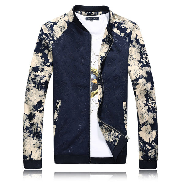 Jacket – Spring / Autumn Jacket With Flower Pattern | Zorket