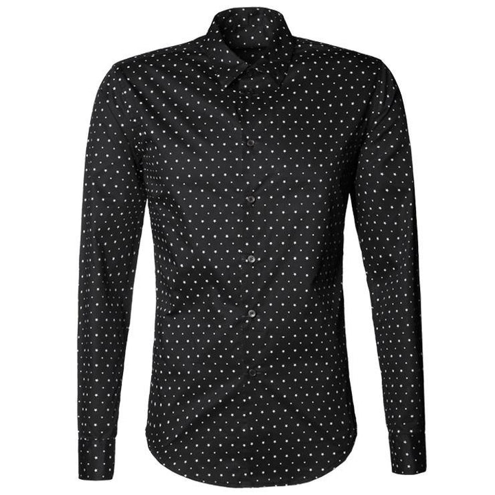 Men's Stylish Casual Long Sleeve Shirt