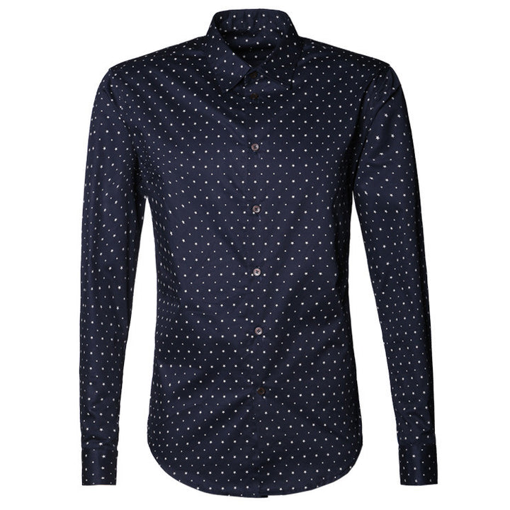 Men's Stylish Casual Long Sleeve Shirt - Zorket