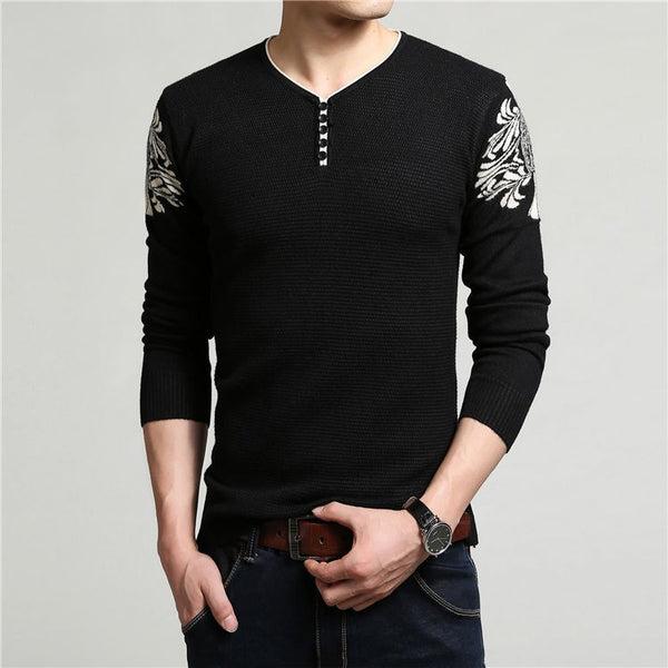 Pullover – Men's Thick Warm Knitted Winter Sweater | Zorket