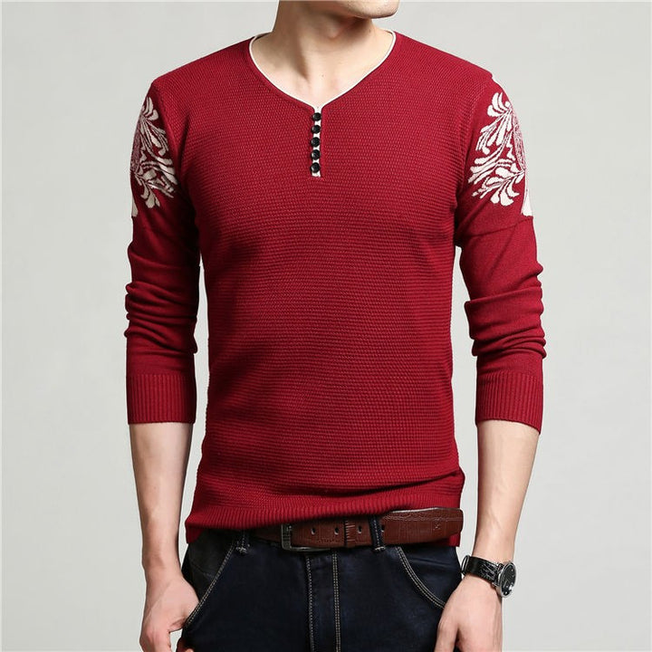 Men's Thick Warm Knitted Winter Sweater - Zorket