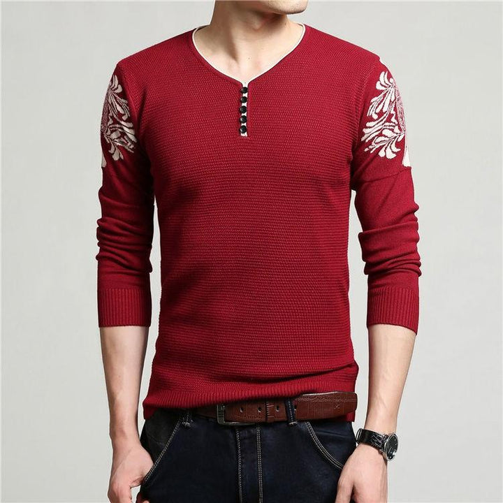 Men's Thick Warm Knitted Winter Sweater