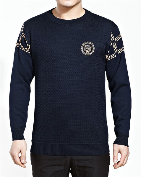 Pullover – Man's Long Sleeve O-Neck Sweater | Zorket