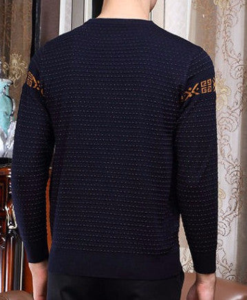 Pullover – Men's Knitted Long Sleeve Slim Fit Sweater | Zorket