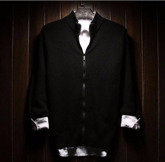 Men's High Quality Winter Thick Warm Woolen Cardigan