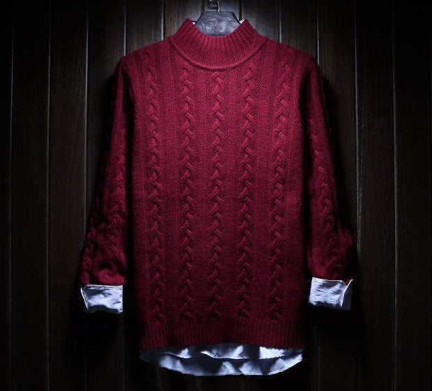 Men's High Quality Winter Thick Warm Christmas Sweater - Zorket