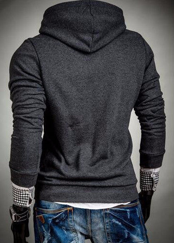Hoodies & Sweatshirts – Men's Fashion Slim Fit Hooded Sweatshirt | Zorket