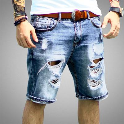 Mens Denim Regular Casual Shorts