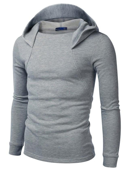 Men's Sports Slim Fit Hooded Sweatshirt