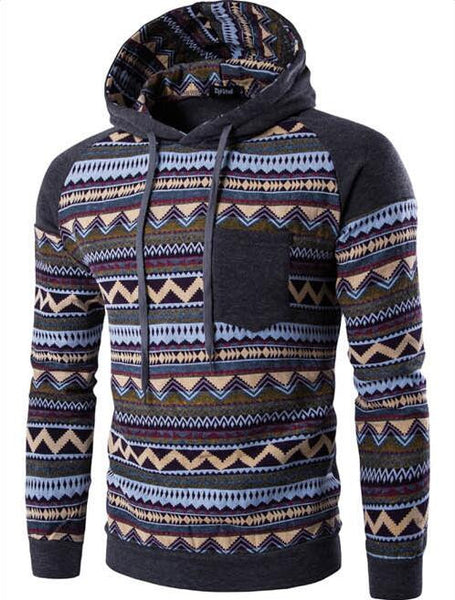 Hoodies & Sweatshirts – Men's High Quality Slim Fit Hooded Sweatshirt | Zorket