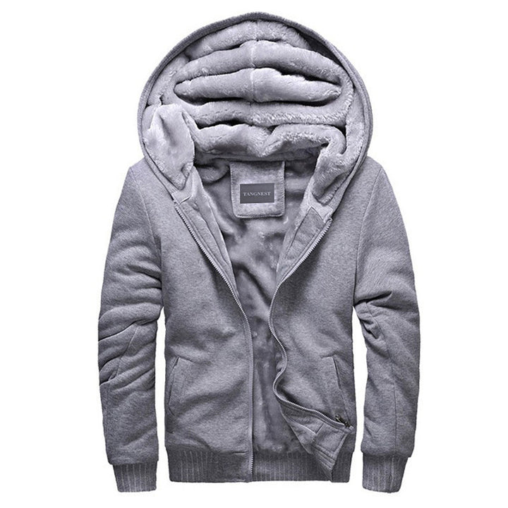 Hoodies & Sweatshirts – Man's Casual Warm Soft Thick Sweatshirt | Zorket