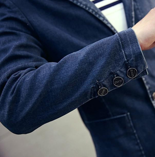 Blazer – Men's Casual Denim Blazer | Zorket