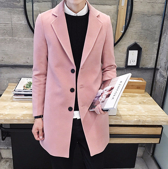 Coat – Men's Fashion Casual Business Coat | Zorket