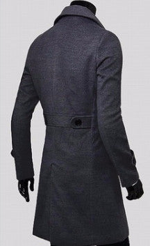 Coat – Stylish Long Overcoat Of Cotton | Zorket