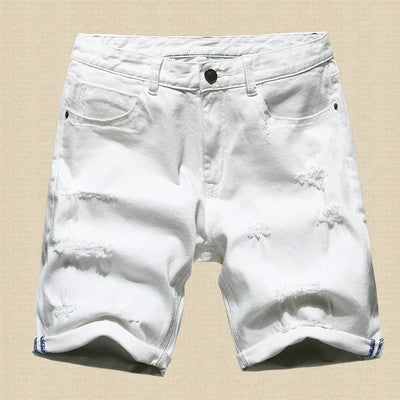 Men's Slim Regular Casual Denim Shorts - Zorket