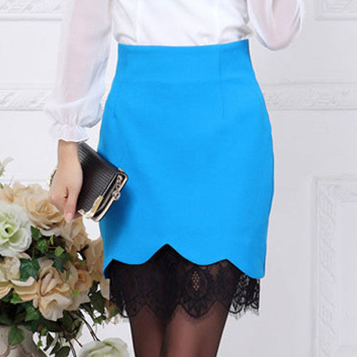 Women's Vintage High Waist Pencil Skirt - Zorket