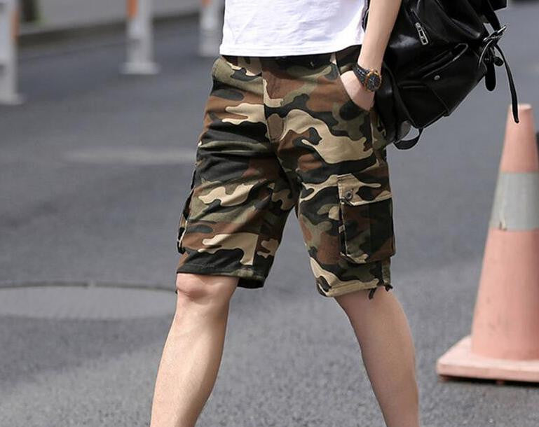 Shorts – Men's Casual Military Camouflage Shorts | Zorket