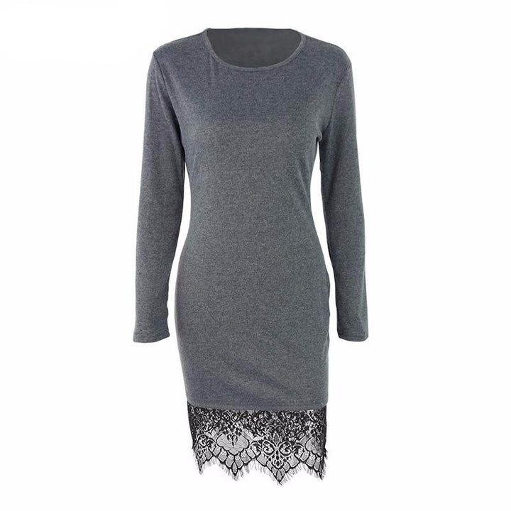 Dress – Elegant Lace Long Sleeved Casual Dress | Zorket