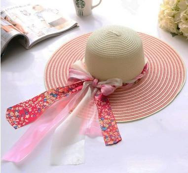 Female Summer Beach Straw Hat