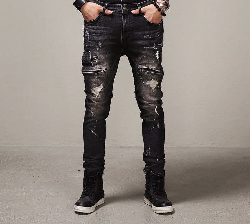 Jeans – High Quality Mens Ripped Biker Jeans | Zorket
