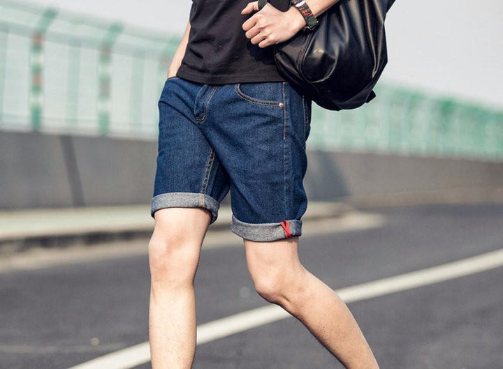 Men's Summer Casual Jeans Shorts