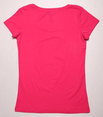 Female Plain O-Neck T-Shirt