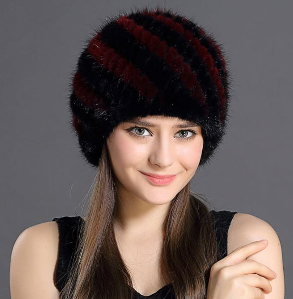 Winter Hat – Female Winter Hat With Natural Fur | Zorket