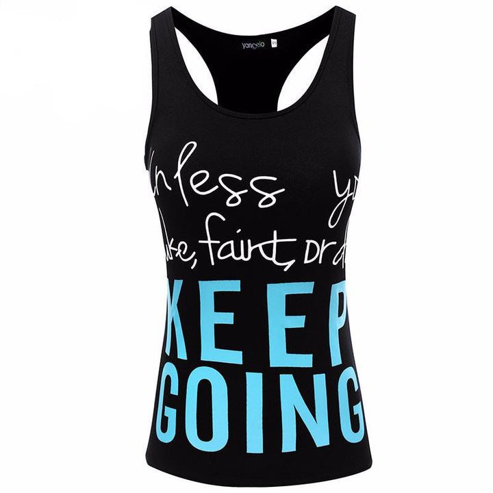 Sport Tank Top With Print