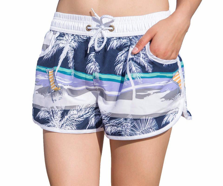 Quick-Drying Female Beach Shorts