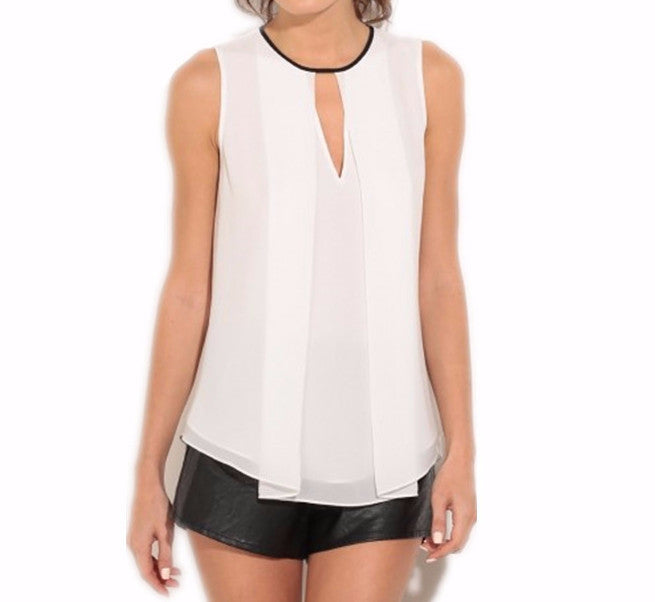 Women's Summer Chiffon Blouse - Zorket