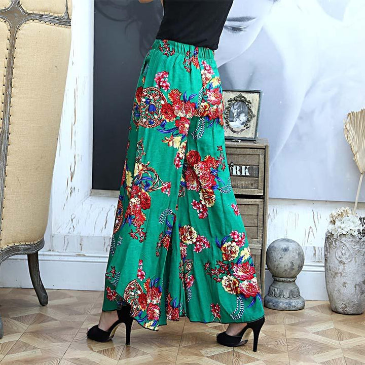 Summer Thin Wide Female Pants