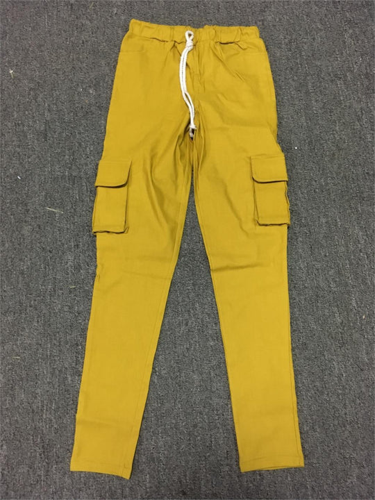 Female Cargo Multi Pocket Pants