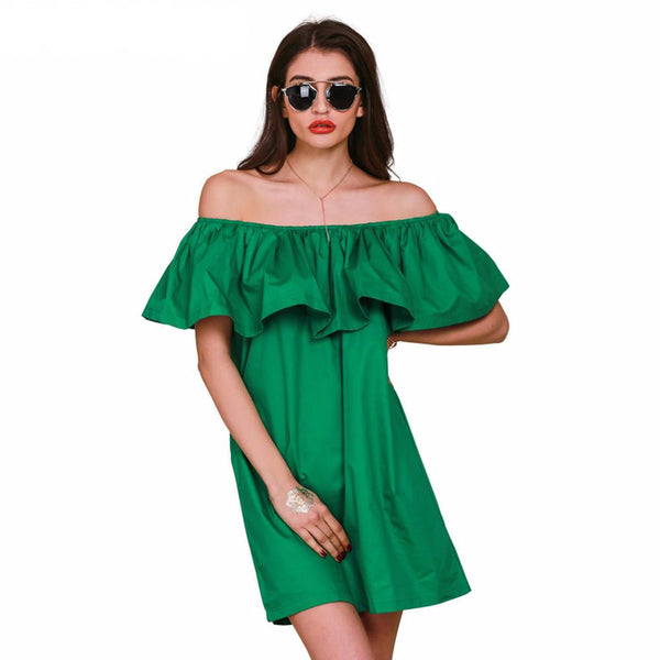 Dress – Slash Neck Off Shoulder Dress | Zorket