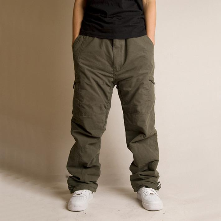 Men's Casual Thick Cargo Hip-Hop Style Pants