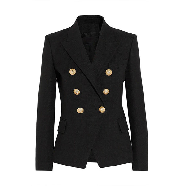 Blazer – Female Elegant Double Breasted Blazer | Zorket