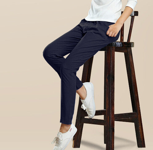 Pants – Fashionable Female High Elastic Solid Color Pants | Zorket