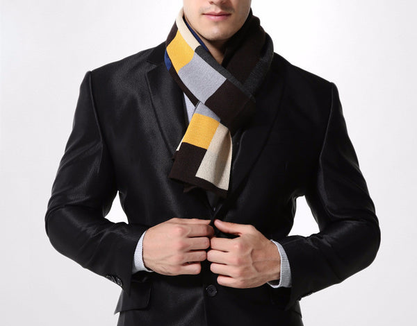 Scarf – Stylish Winter Plaid Scarf For Men | Zorket