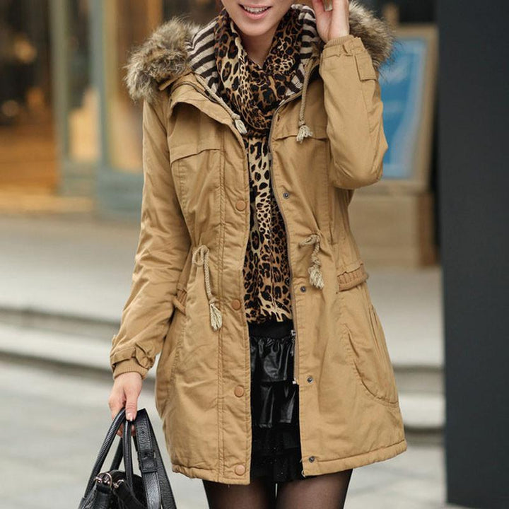 Winter Women's Hooded Down Coat