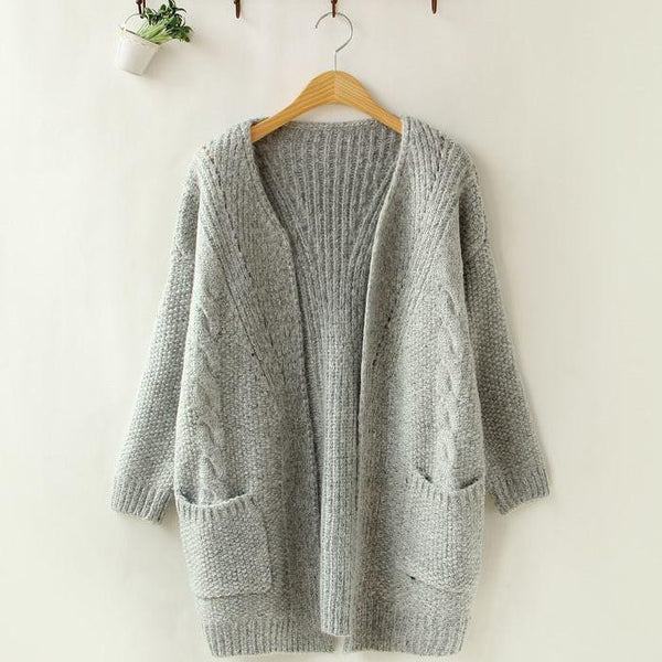Cardigan – Female Knitted Casual Warm Cardigan | Zorket