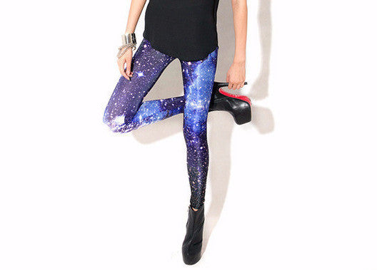 Women's Casual Leggings With 3D Print - Zorket
