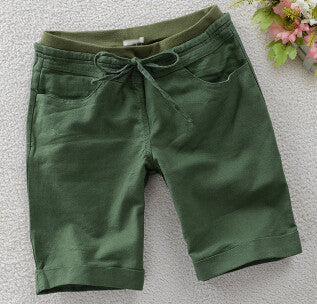 Women's Casual Solid Color Shorts - Zorket