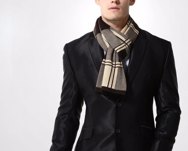 Scarf – Fashionable Plaid Casual Scraf For Men | Zorket