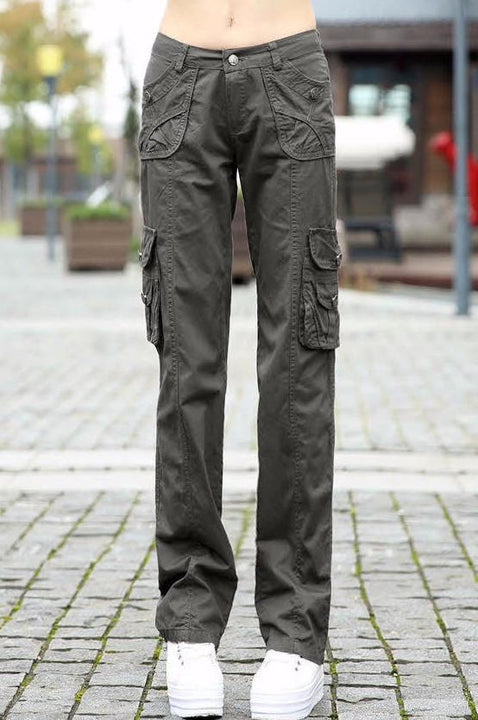Female Stylish Cargo Camouflage Pants