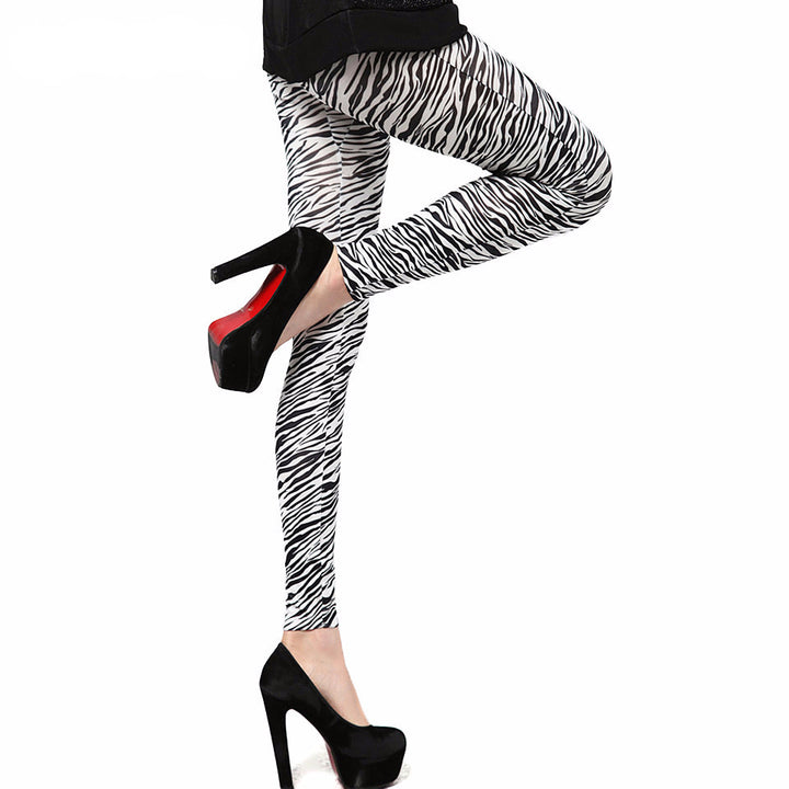 Leggings – Female Zebra Stripes Leggings | Zorket