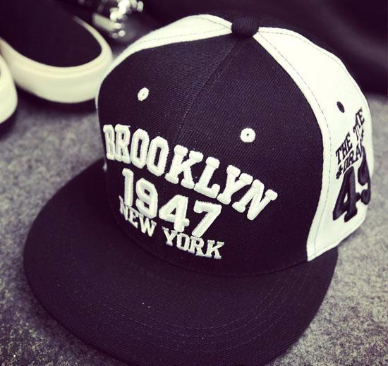 New York Brooklyn Snapback Cap