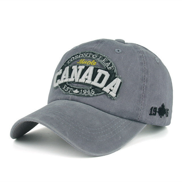 Baseball Cap – Men's Canada Embroidery Cotton Baseball Cap | Zorket
