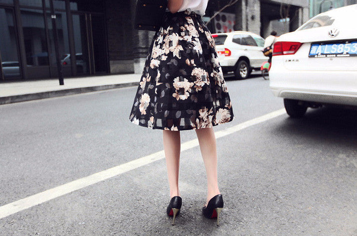 Summer Stylish High Waist Casual Skirt - Zorket