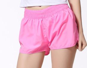 Female Casual Solid Color Shorts