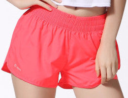 Female Casual Solid Color Shorts - Zorket