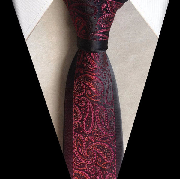 Tie – Stylish Classic Male Necktie With Border | Zorket